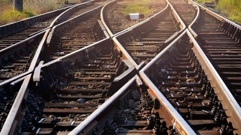 A railroad regulation can help prevent accidents on train tracks like these.